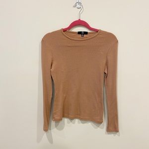 Missguided long sleeve top